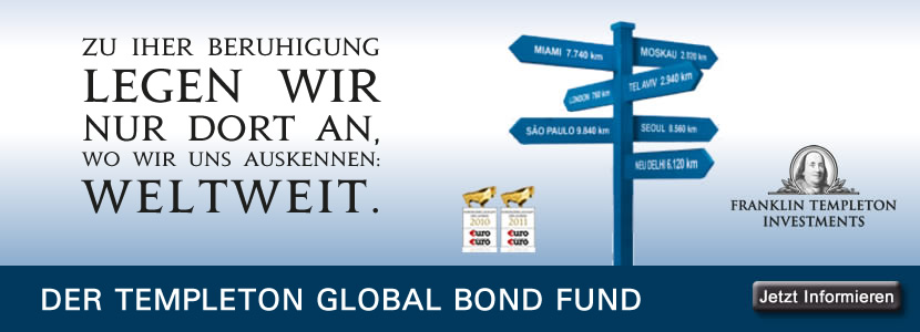 Fondsempfehlung Templeton Global Bond
